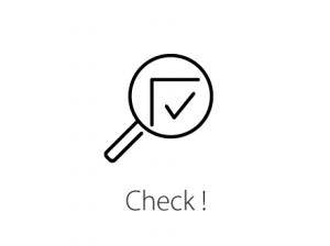 情報チェックのアイコン