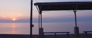 下灘駅の写真