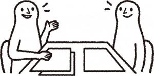経営指導・支援イラスト
